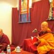 Jhado Rinpoche and Ven Kartson (Yaki), Israel 2016