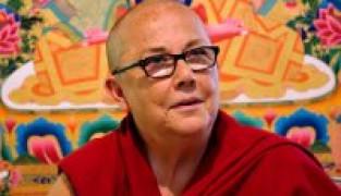 הנזירה רובינה קורטין בישראל ינואר 2018