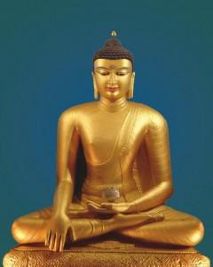 בודהה שקיאמוני - גלויה לתרגול שמטהה